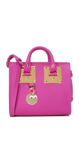 mini dark bag tote bag