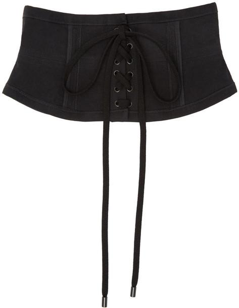 Isabel Marant belt lace black