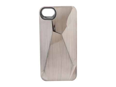 Marc by Marc Jacobs Metallic Faceted Phone Case for iPhone® 5 and 5s Brushed Metal - Zappos.com Free Shipping BOTH Ways