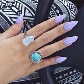 jewels,nail polish,pants,ring,rock,sliver