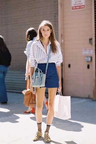 vanessa jackman blogger socks shoes shirt dress skirt