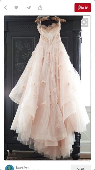 dress prom dress roses long prom dress