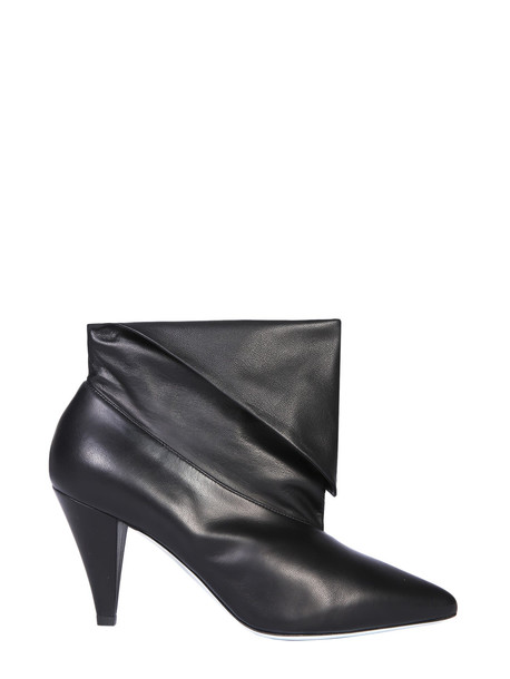 Givenchy Leather Ankle Boots in nero