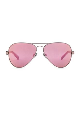 sunglasses metallic silver