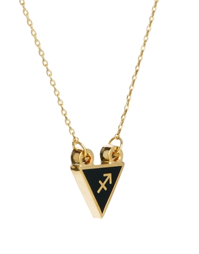 Me & Zena | Me & Zena Sagittarius Horoscope Necklace at ASOS