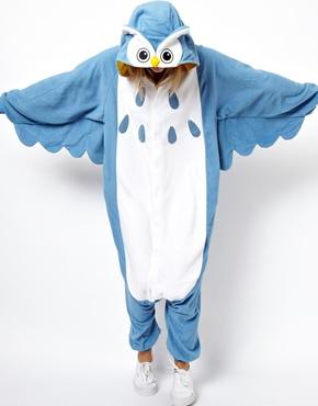 Kigu | Kigu Owl Onesie at ASOS
