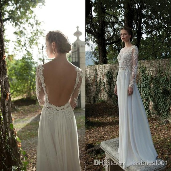 dress unique elegant lace wedding dresses backless prom dresses