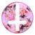 Floral Cross - Plug | UK Custom Plugs Shop for gauges, alternative fashion & body jewellery