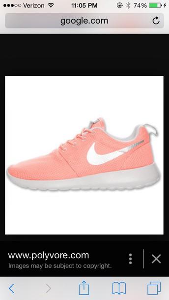 shoes nike roshe run atomic pink