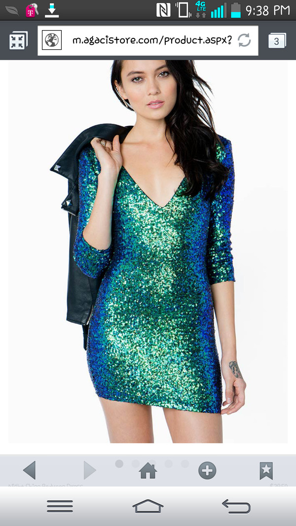dress sequin dress glitter dress