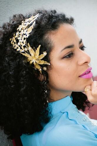 hair accessory hair headband floral headband
