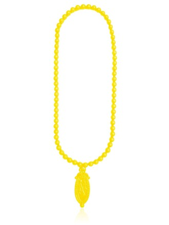 necklace yellow jewels