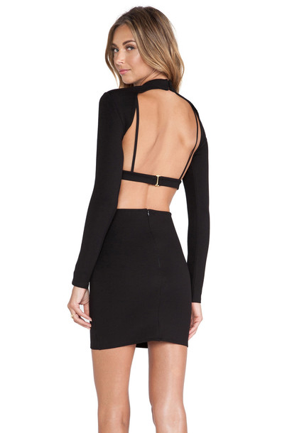 NBD Hold It Dress in black