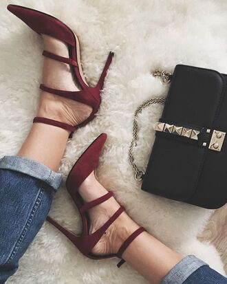shoes fsjshoes strappy heels heels high heels