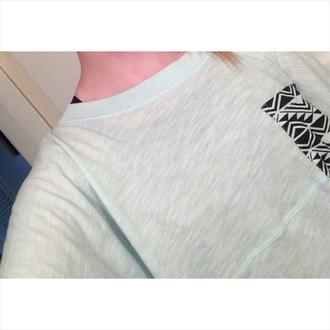 shirt pocket tee patterned pocket