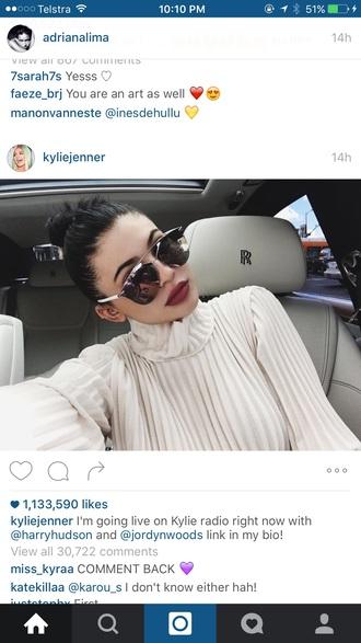 make-up kylie jenner red lipstick