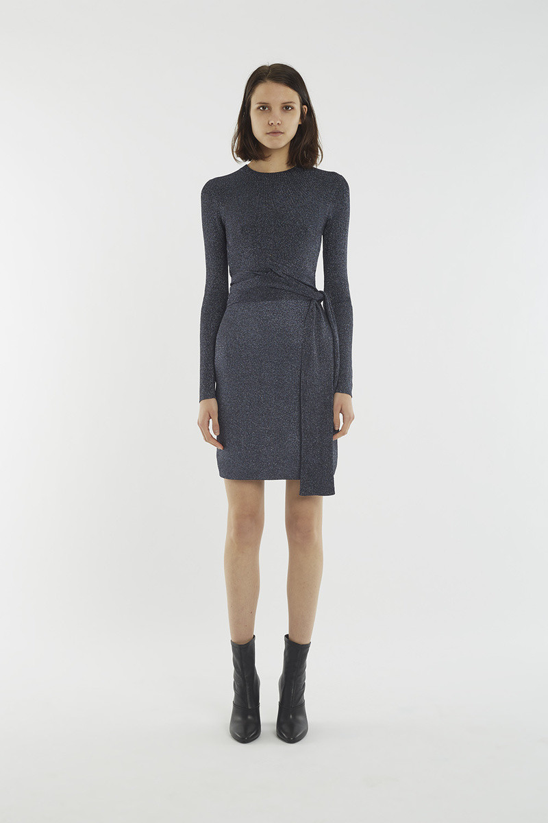 Wrap-Waist Ribbed Dress | 3.1 Phillip Lim Official Store