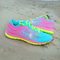 Tropical twist ,pink glow and volt nike tr 4 trainers with swarovski tick | maluhii™