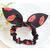1 Piece Fashion Small Hair Rope Bow Rabbit Ears Solid Lip Hair Band Headwear Hair Tie girl Hair Accessories