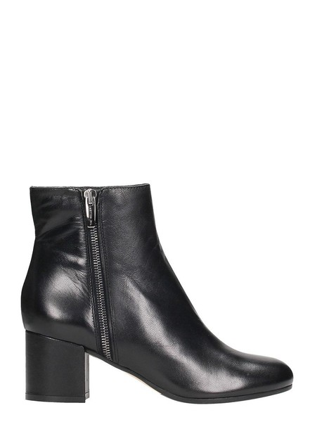The Seller leather black black leather shoes