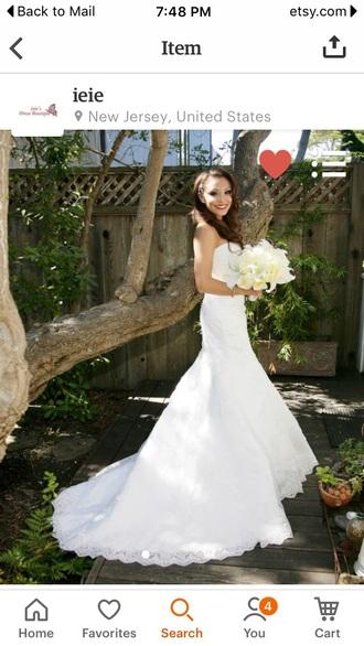 dress strapless lace wedding dresses