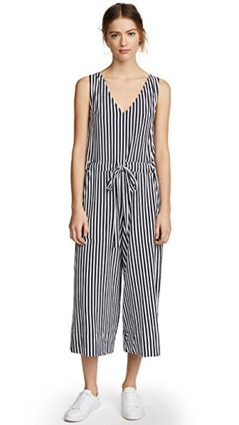 MDS Stripes jumpsuit navy