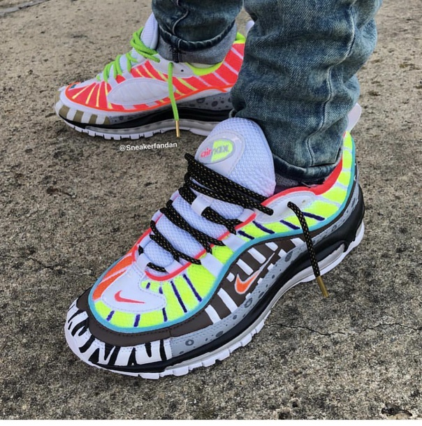 shoes, nike, air max, multicolor