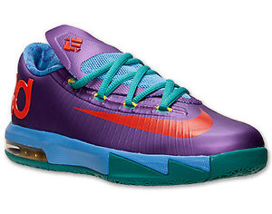 New Youth Grade School KD VI 6 Rugrats Kevin Durant Purple Blue 599477 500 GS | eBay