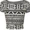 New women animal aztec skull camo print cap sleeve short crop top size 4-10