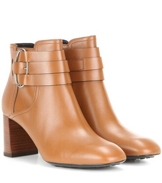 leather ankle boots boots ankle boots leather brown shoes