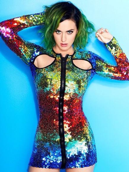 katy perry sequin dress dress