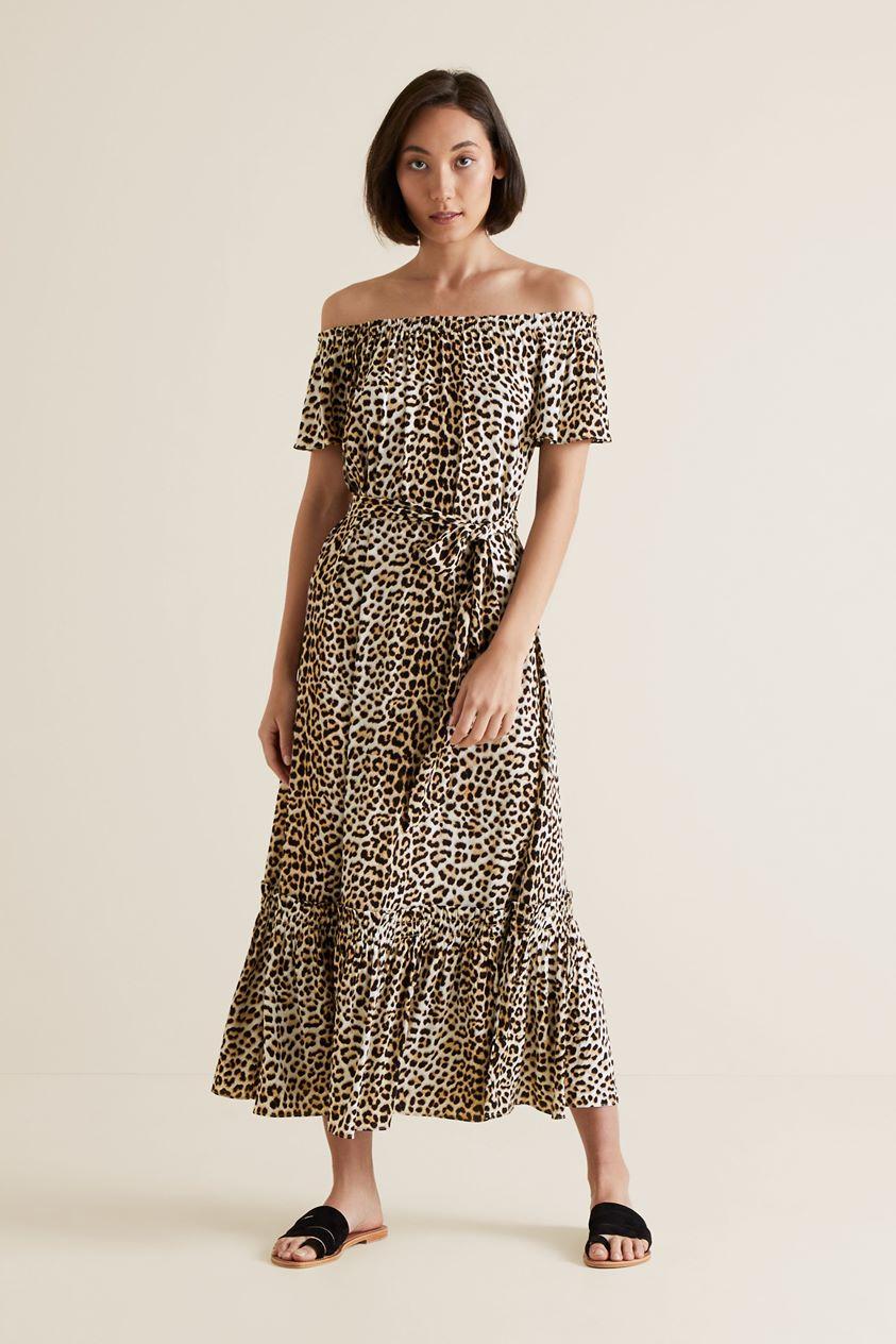 Ocelot Maxi Dress