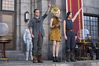 peeta boots the hunger games katniss everdeen jennifer lawrence josh hutcherson menswear jumpsuit