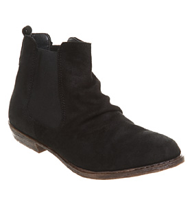 Office kris chelsea boot black leather shoes