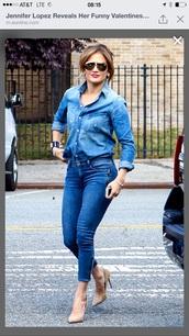 jeans,jennifer lopez,sunglasses