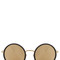 Linda farrow luxe 24 carat yellow gold sunglasses