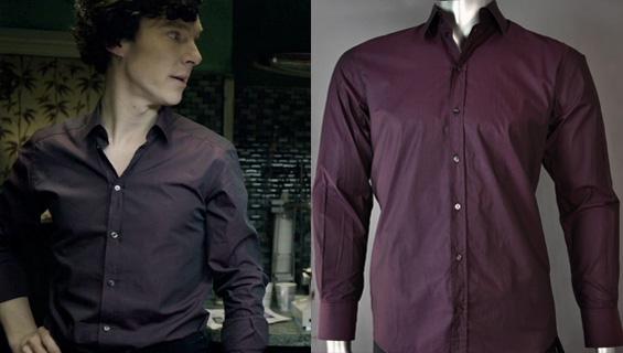 Sherlock Holmes' Shirts | BBC Sherlock | Sherlockology