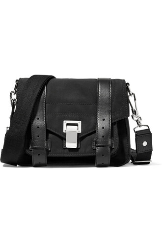 bag shoulder bag leather black