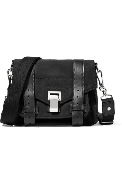 Proenza Schouler bag shoulder bag leather black