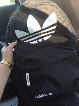 bag adidas black logo