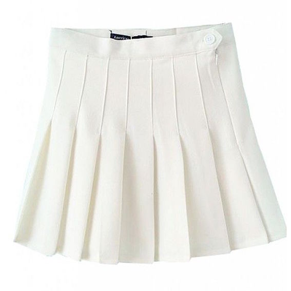 Pleated Pastel Skirt from Pink Need
