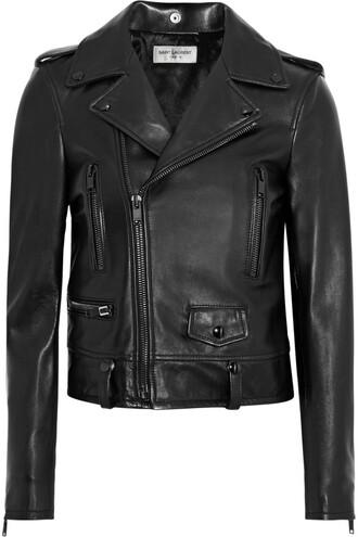 jacket perfecto biker jacket classic leather black