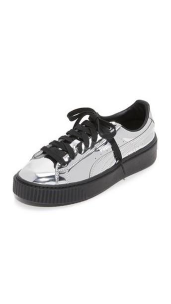 Puma metallic shoes available for  110 at shopbop.com - Wheretoget 1ea8db766225