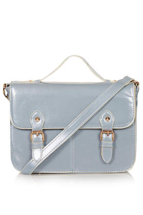 Vinyl Edge Paint Satchel - Bags & Wallets  - Bags & Accessories  - Topshop USA