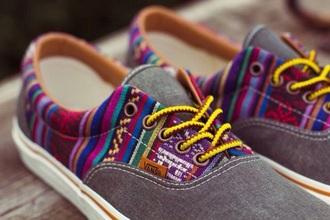 shoes vans printed vans vans of the wall bohostyle