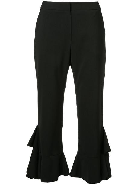 GOEN.J pants ruffle women black
