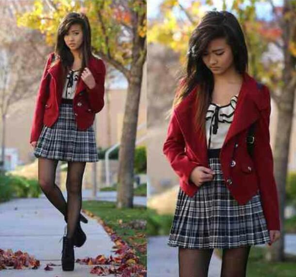 coat vibrent red corduroy blazer