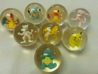 jewels bouncy balls pokemon pokeballs 90s style
