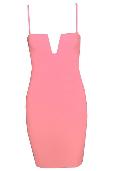 Catlin V Bodycon Dress | Outfit Made