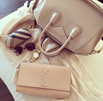 bag purse givenchy givenchy bag beige
